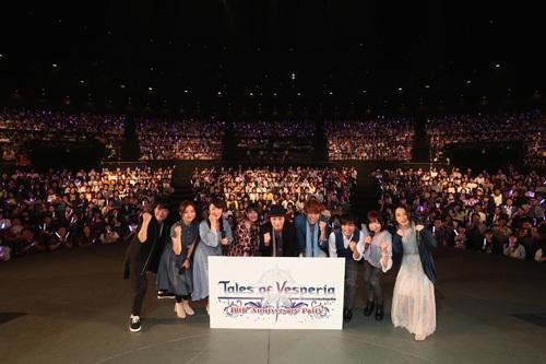 鳥海浩輔、中原麻衣、宮野真守らキャスト勢揃い!「Tales of Vesperia 10th Anniversary Party」、イベントレポート