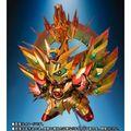 新SDガンダム外伝「黄金神話」から、太陽騎士ゴッドガンダムの最強の姿を再現した「SDX 太陽騎士ゴッドガンダム 明鏡止水ゴールドバージョン」が登場