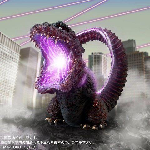 「デフォリアル」にゴジラ(2016)第4形態(覚醒)が発光ギミック内蔵で登場!!