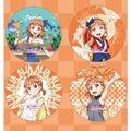 「ラブライブ!サンシャイン!!」から、アニメ1期挿入歌「未熟DREAMER」衣装イラストなどがデザインされた缶バッジが各メンバーごとのセットで登場!