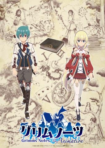 2019冬アニメ「グリムノーツ The Animation」主題歌アーティスト、OPは竹達彩奈、EDはi☆Risに決定!