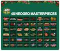 NEOGEOの名作48タイトルを収録した「NEOGEO mini」のクリスマス限定版が近日予約スタート!