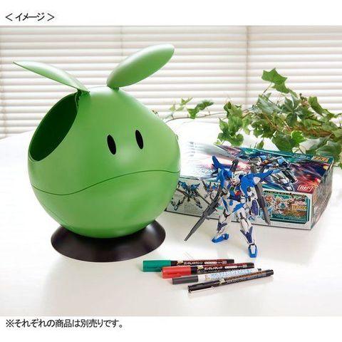 直径約25センチ、ほぼ実物大のマルチボックス「なんでもハロ(グリーン)」、発売中!!