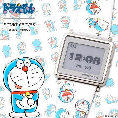 """24時間365日「ドラえもん」と""""時感旅行""""にでかけよう!「ドラえもん」×「スマートキャンバス」コラボデジタル腕時計登場!"""