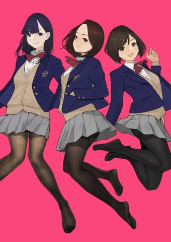 よむ×丸戸史明が女子高校生の日常を描く、アニメ「みるタイツ」製作決定! 2019年初夏より配信