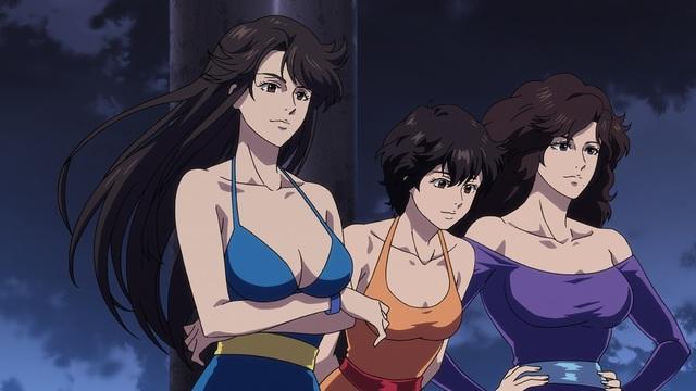 「劇場版シティーハンター」新予告編にキャッツアイの3姉妹が登場! 戸田恵子も出演