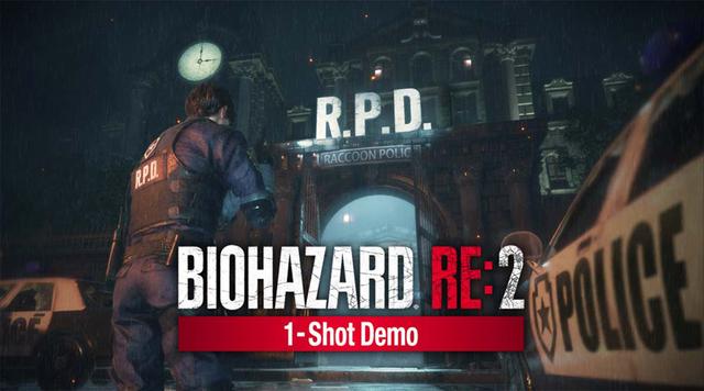 「バイオハザードRE:2」、体験版「バイオハザードRE:2 1-Shot Demo」の配信がスタート! プレイ時間30分&挑戦回数1回限りの極限サバイバル