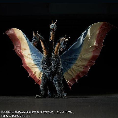 東宝大怪獣シリーズより、1964年公開の「三大怪獣 地球最大の決戦」に登場したキングギドラが登場!!