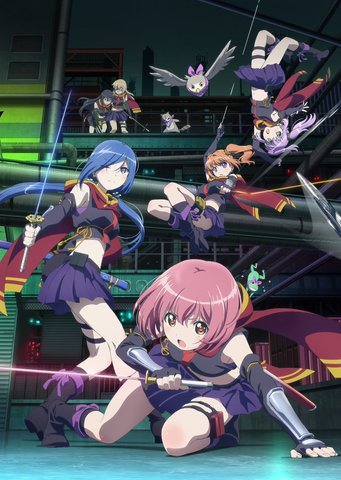 TVアニメ「RELEASE THE SPYCE」、全12話のニコ生での一挙放送が決定!