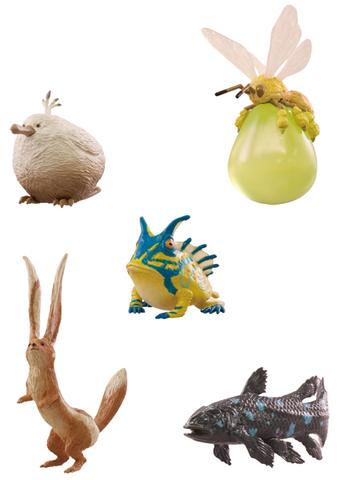 「モンスターハンター:ワールド」でおなじみの「環境生物」たちが、 かわいいカプセルフィギュアになって登場!