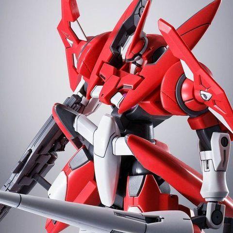 """「機動戦士ガンダム00V」より、デボラ・ガリエナが駆る""""真紅""""の機体色が特徴的なアドヴァンスドジンクスがHGシリーズに登場!!"""