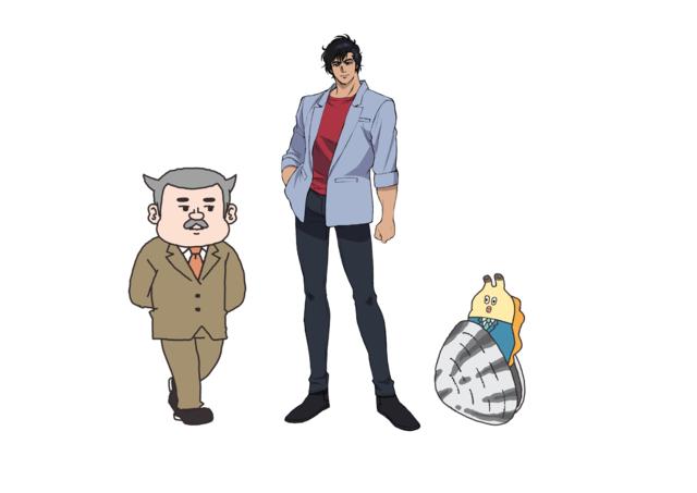 「劇場版シティーハンター<新宿プライベート・アイズ>」と「ZIP!」アニメ「朝だよ!貝社員」がコラボレーション!