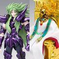 「聖闘士星矢 冥王ハーデス 十二宮編」から、冥衣を着た前教皇シオンが、ついに聖闘士聖衣神話EXで登場!