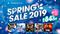 SIE、PS StoreにてPS4の250タイトル以上が最大84%OFFになる「SPRING SALE 2019」&「バーチャルYouTuberコラボ」が実施中!
