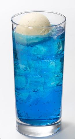 ブルーライチクリームソーダ
