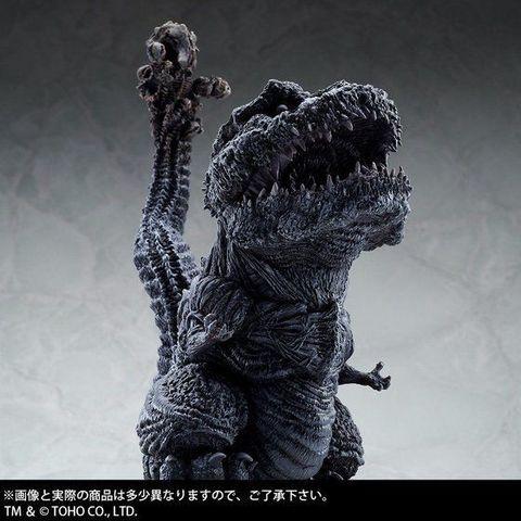 デフォルメ×リアルがコンセプトの「デフォリアル」に「シン・ゴジラ」よりゴジラ(2016)が凍結Ver.にて登場!