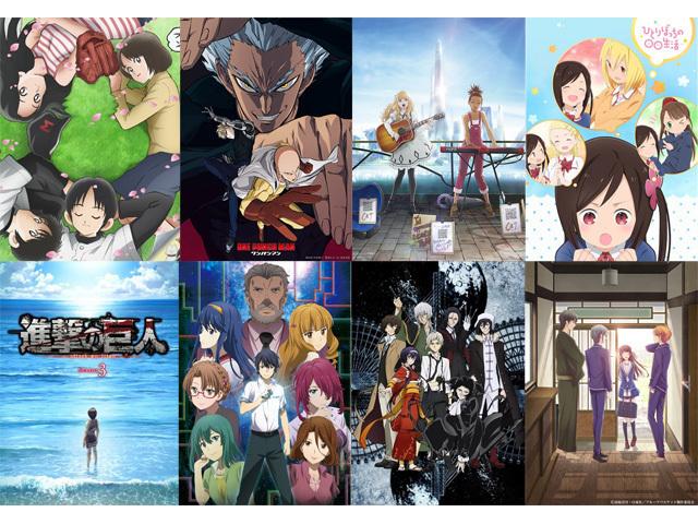 「来期は何を観る!? 観たい2019春アニメ人気投票」結果発表! 「進撃の巨人 Season 3 Part.2」が激戦を制す
