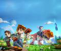 7月4日発売のPS4/Switch「PixARK」、ゲーム序盤のサバイバル生活を公開!