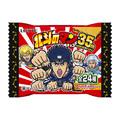 西日本は20周年の「ワンピース」、東日本では35周年の「北斗の拳」とコラボした「ビックリマンチョコ」が、本日より先行発売開始!