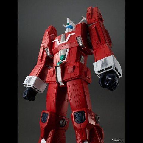 「伝説巨神イデオン」が、全高約73cm、重量3kg超の大迫力ソフビフィギュアになって登場!