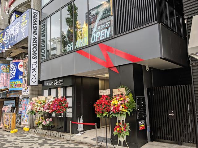 「魂ネイションズ」初のフラッグシップストア「TAMASHII NATIONS TOKYO」が4月27日OPEN! TSUKUMO eX.となり