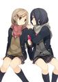 入間人間が贈る女子高生2人のゆる~い日常、「安達としまむら」がTVアニメ化決定!