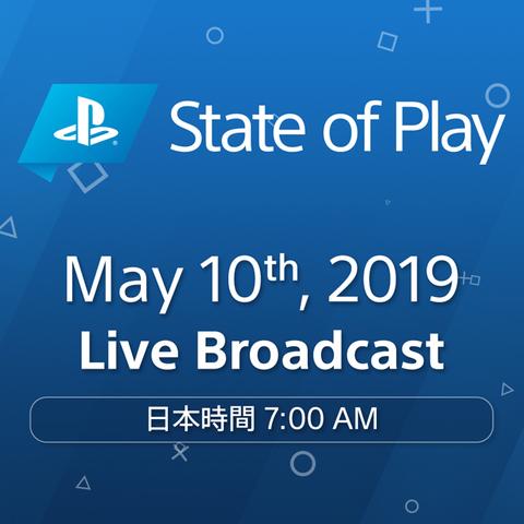 プレイステーションの新情報発表・動画配信イベント「State of Play」第2回が5月10日7:00に配信決定!