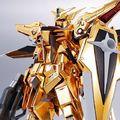 METAL ROBOT魂「機動戦士ガンダムSEED DESTINY」に、黄金に輝く外装「ヤタノカガミ」を真空蒸着メッキで再現した「アカツキガンダム」が登場!