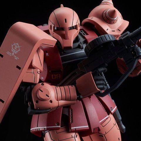 「機動戦士ガンダム THE ORIGIN」MSDより、シャア専用ザクI(LIMITED MODEL)がHGシリーズに登場!