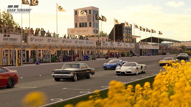 「グランツーリスモSPORT」、最新アップデート配信中! 新規コース「グッドウッド・モーターサーキット」を追加