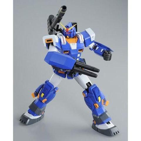 「機動戦士ガンダム 戦場の絆」登場時のカラーを再現した、フルアーマーガンダム(ブルーカラー)MGが再販決定!!