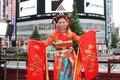 「エヴァ」が日本の夏を盛り上げる! 和太鼓アレンジで生まれ変わった「残酷な天使のテーゼ MATSURI SPRIT」発売記念、高橋洋子フリーライブレポ&インタビュー!