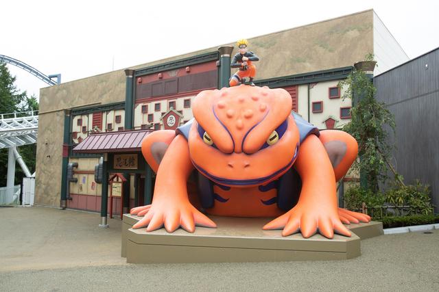 富士急ハイランドに「NARUTO×BORUTO 富士 木ノ葉隠れの里」が、本日開業だってばよ!