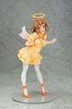「戦姫絶唱シンフォギアGX」より、黄色いワンピースを身にまとって上目遣いな視線を向ける「響 天使Ver.」のフィギュアが登場!