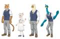 アニメ「BEASTARS」第3弾PVを公開! ルイやジュノ、ゴウヒンなど計21匹の担当キャストを一挙解禁!!