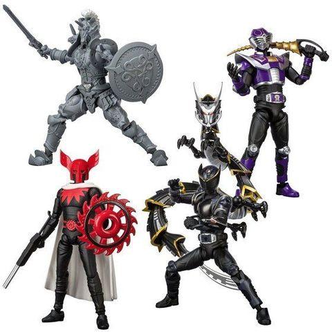 仮面ライダー王蛇、リュウガ、ホースオルフェノク、アポロガイスト、ドラグブラッカーA、Bが「SHODO-O(アウトサイダー)」に登場!