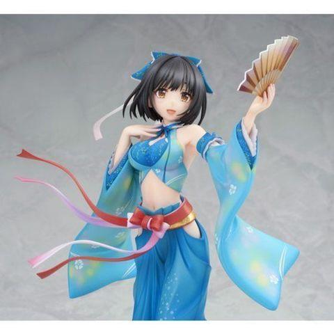 「アイドルマスター シンデレラガールズ」より、鷹富士茄子が優雅に舞い踊るようなポージングの「強運の才女」衣装で立体化