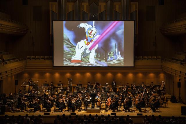 オーケストラの演奏がもたらす新たな発見、そして新鮮な感動!「劇場版『機動戦士ガンダム』シネマ・コンサート」レポート