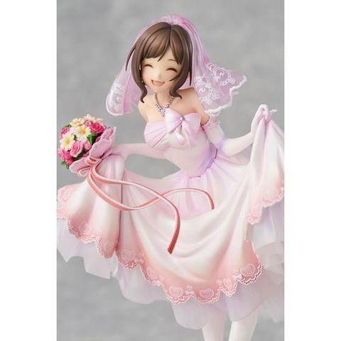 「アイドルマスターシンデレラガールズ」より、幸せいっぱいのかわいい笑顔の前川みくが「ドリーミンブライド」衣装で登場!