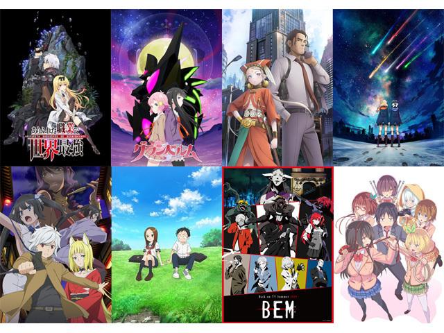 2019夏アニメのキーワードは、「女子高生もの」!?「2019夏アニメOPテーマ人気投票」結果発表!