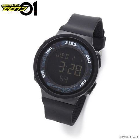 「仮面ライダーゼロワン」より、シリコン素材のスポーティなデザインのA.I.M.S. SQUADの腕時計が登場!