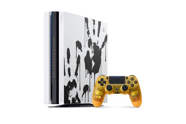話題作「DEATH STRANDING(デス・ストランディング)」の発売にあわせ、PS4 Proの限定デザインモデルが発売決定!