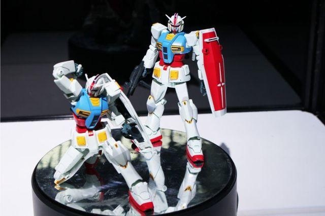 【第59回 全日本模型ホビーショーレポート その1】映像展開も楽しみな「機動戦士ガンダムG40」はじめ、話題のガンプラ、キャラクターモデル満載のバンダイ!