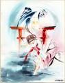 絶賛連載中「吸血姫美夕 朔」の貴重なフルカラー原画も初公開! 漫画家「垣野内成美 新作版画 発表展 2019」開催決定