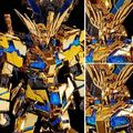 「機動戦士ガンダムNT」より、金色に輝く本体カラーがゴールドメッキで再現されたユニコーンガンダム3号機 フェネクスがRGに!