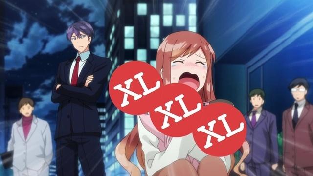 TVアニメ「XL上司。」、10/13(日)より放送の第2話先行カット公開!