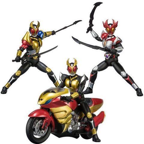 「SHODO-X」シリーズ第6弾は「仮面ライダーアギト」から、アギトの各フォーム&マシントルネイダーが登場!