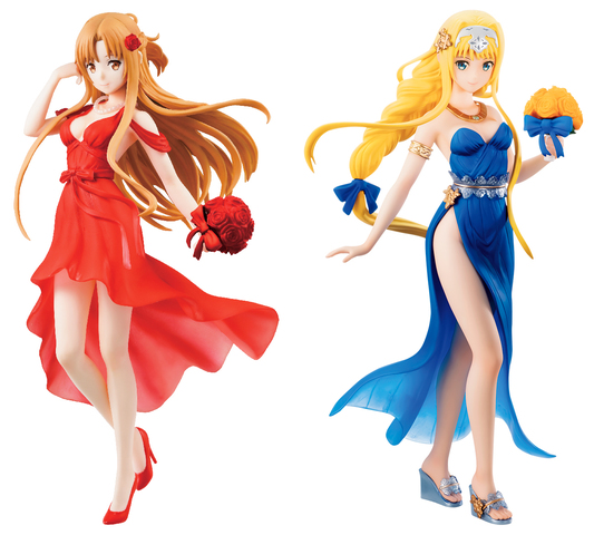 エレガントにドレスアップしたアスナやアリスは必見! 「ソードアート・オンライン」10周年記念一番くじ、11/23(土)より順次発売