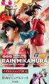 放送25周年の「機動武闘伝Gガンダム」より、ヒロインのレイン・ミカムラがガンダムガールズジェネレーション(GGG)に登場!!