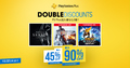 PS4のタイトルがPS Plus加入者なら最大80%OFF! セール「Double Discount」が11/8より期間限定にて開催!!